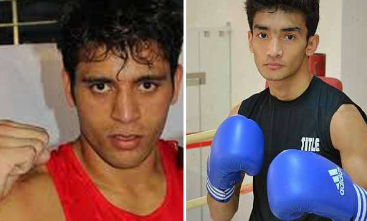 indian boxers bag gold at asian olympic qualifiers
