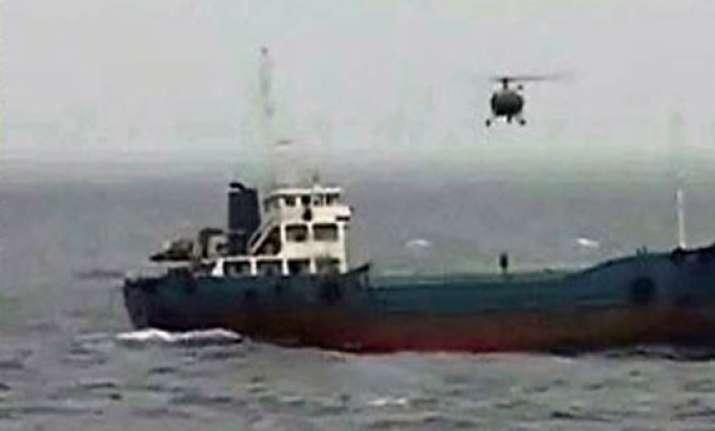 indian navy captures hijacked vessel off mumbai coast