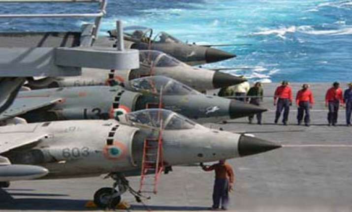indian navy gets new mig 29k carrier borne fighters