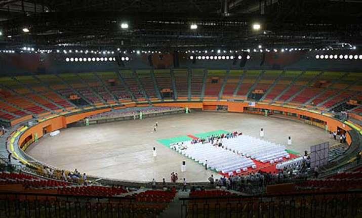 indira gandhi stadium robbed of furniture fixture installed