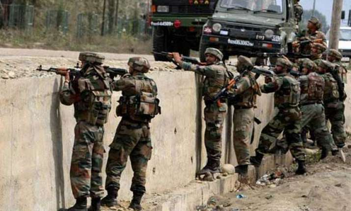 infiltration bid foiled along loc in jammu and kashmir s