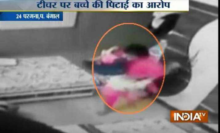 insane 3 year old kid mercilessly beaten by tuition teacher