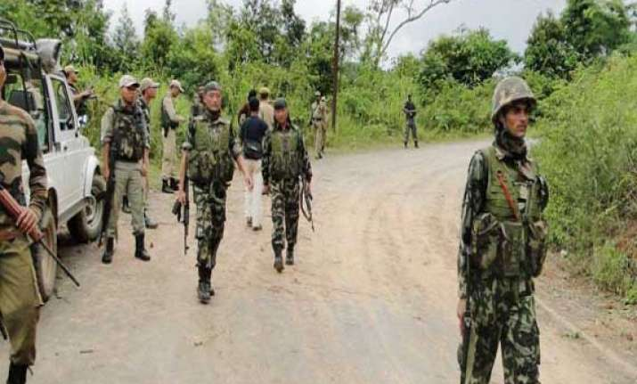 insurgents ambush two security posts in manipur