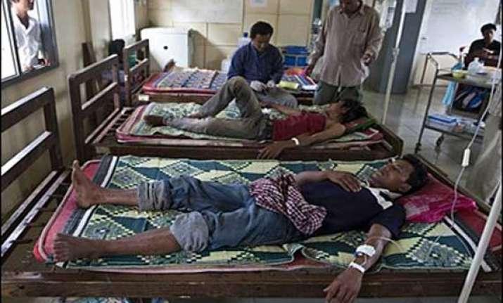 international doctors to check malaria outbreak in tripura