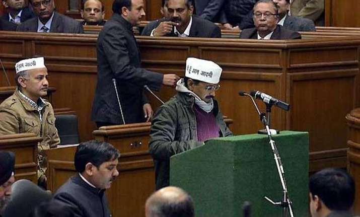 introduction of jan lokpal bill defeated kejriwal to resign