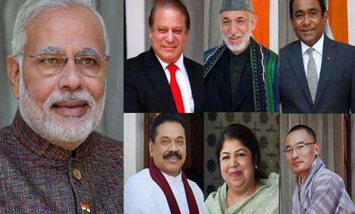 inviting saarc leaders sent out a message to world modi