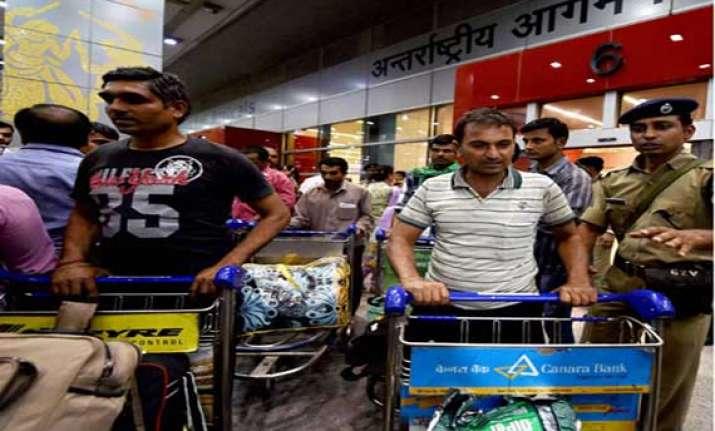 25 iraq evacuees return to bengal