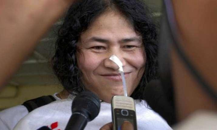 irom sharmila seeks hazare s support
