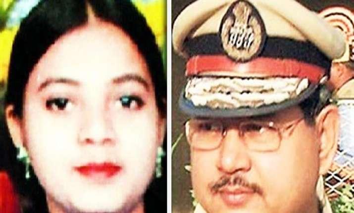 ishrat encounter accused gujarat former adg p p pandey sent