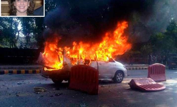 israeli diplomat s wife tells police bomber was wearing