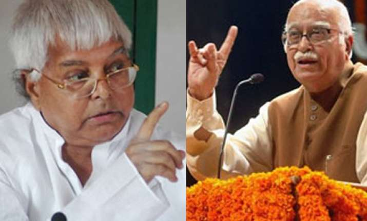 it s advani s farewell yatra says lalu prasad