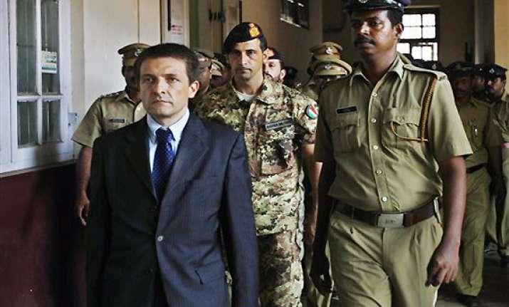 italian marines remanded to 14 days judicial custody