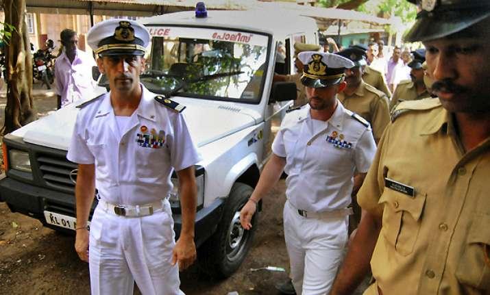 italian marines released on bail