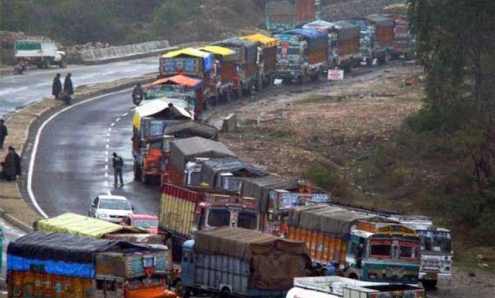 j k highway closed for several hours due to landslides