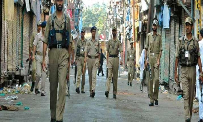 j k sub inspector arrested for running module of militants