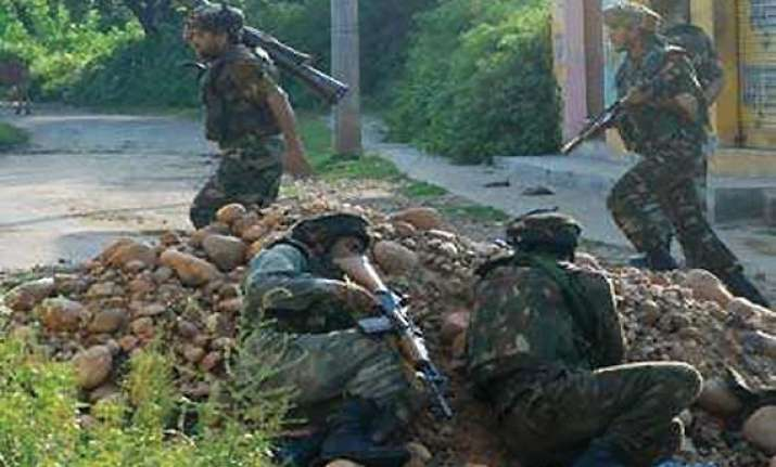 three security personnel 2 ultras killed in encounter