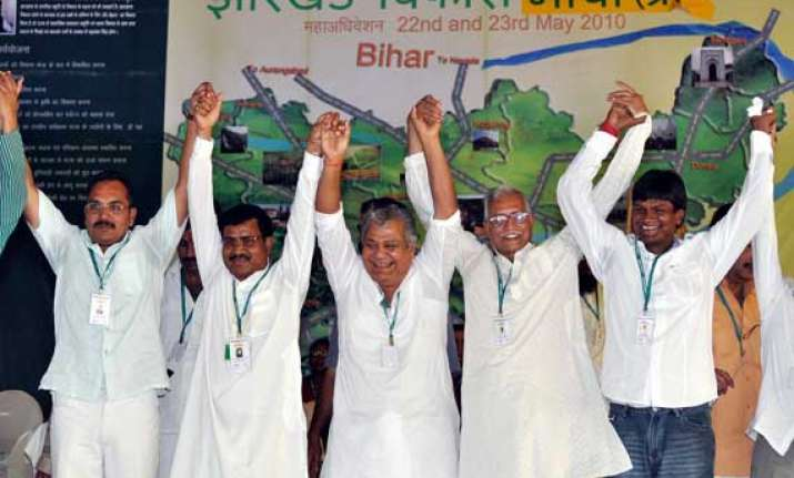 jvm announces candidates for 12 out of 14 jharkhand ls seats