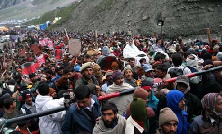 j k police sets up helpline yabs qrts for amarnath pilgrims