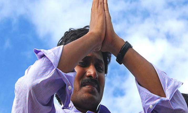 jagan reddy on indefinite fast to challenge cabinet