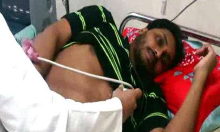 jagan s health improves after being admitted to hospital
