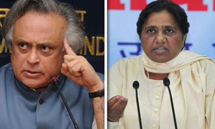 jairam ramesh dares mayawati to refer mgnrega issue to cbi