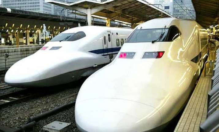 japan to invest heavily in bullet trains in india