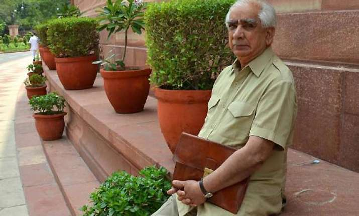 jaswant slams weak political leadership for poor budget