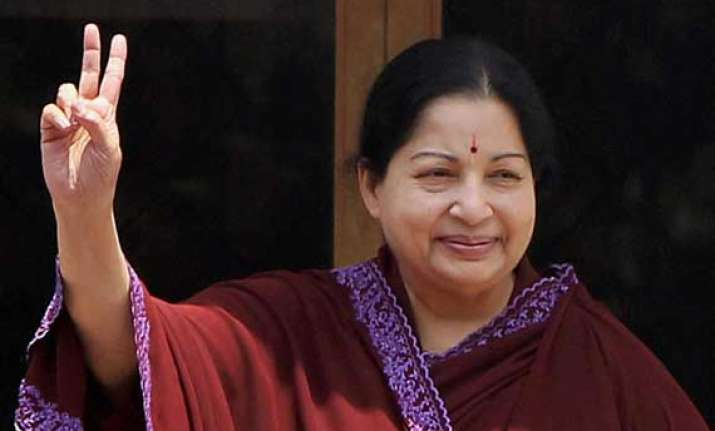 jayalalithaa commends centre on rail budget