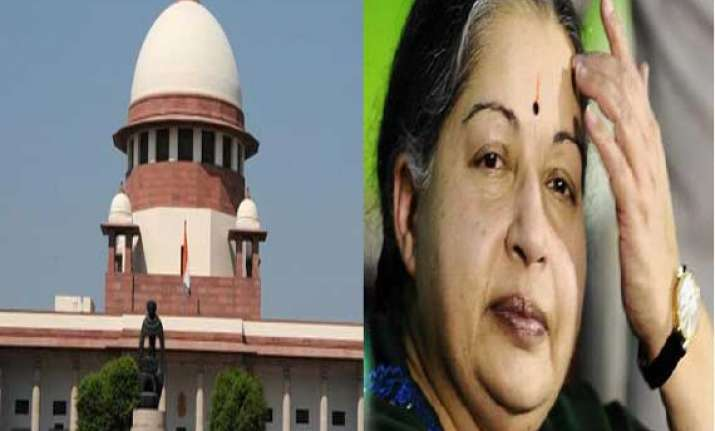 jayalalithaa s trial in da case to go on sc