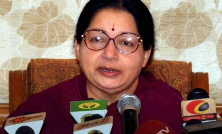 jayalalithaa opposes national food security bill says it is