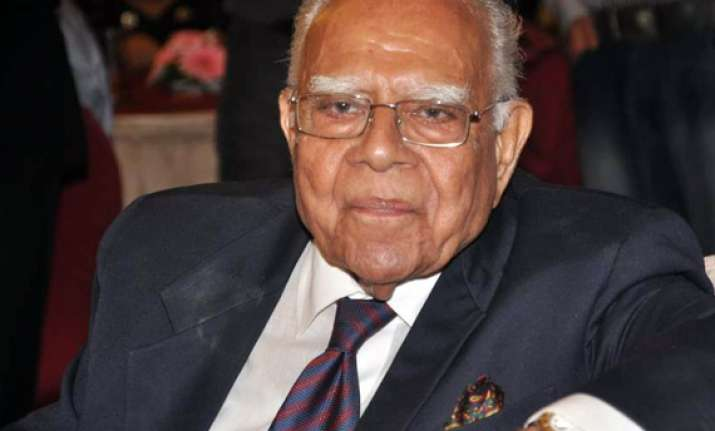 jethmalani s remarks create flutter in rs during lokpal