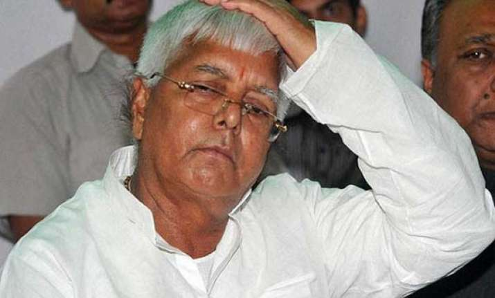 fodder scam jharkhand high court rejects lalu s bail plea