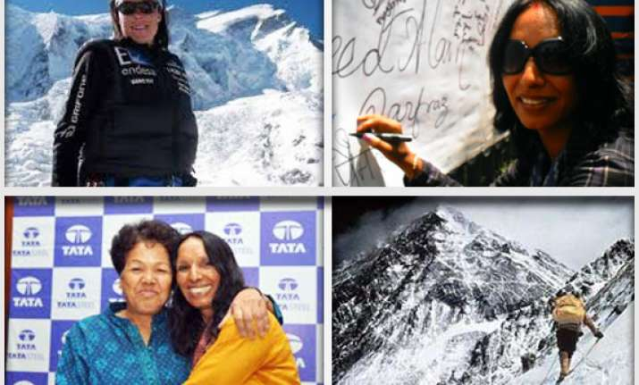 jharkhand s premlata agarwal to scale world s five summits