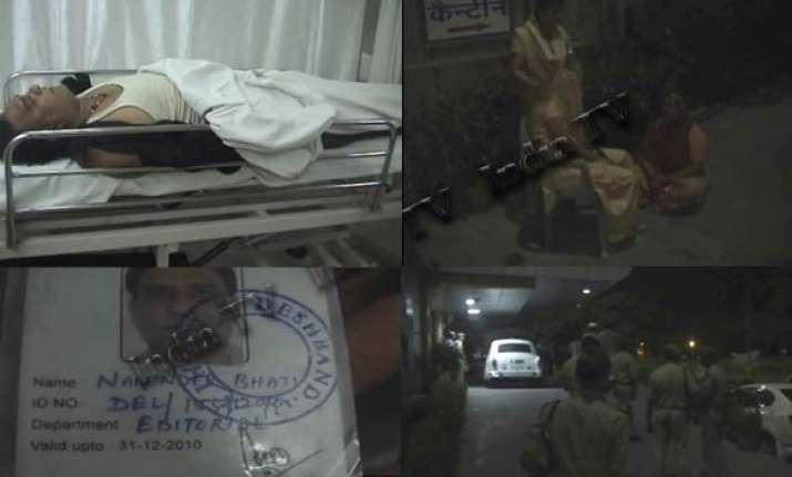 journalist dies of suspected poisoning in noida