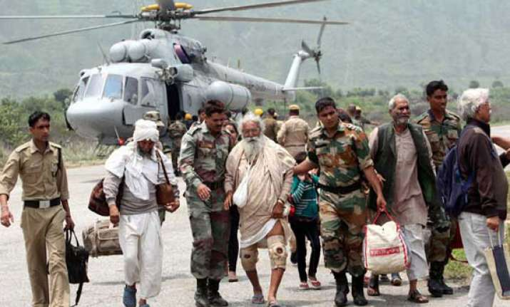 uttarakhand jungle chetti area fully cleared by army itbp