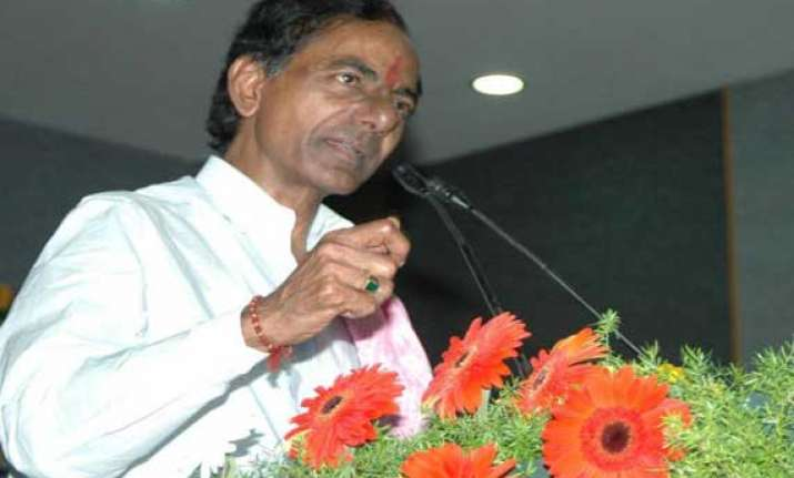 kcr discusses polavaram issue with pm