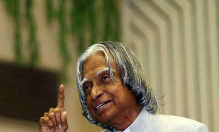 kalam calls for bridging rural urban divide