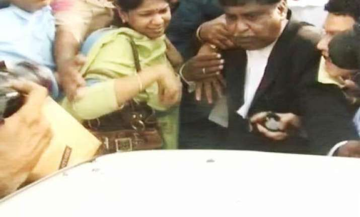 kanimozhi leader s daughter now a jailbird