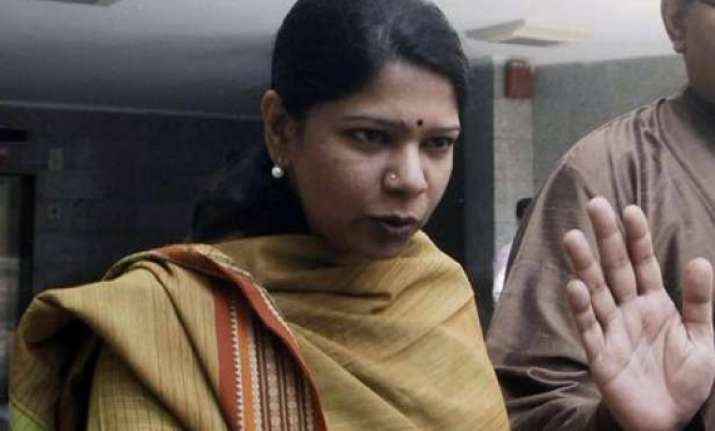 kanimozhi may walk out free from jail