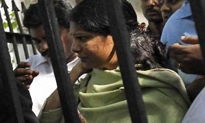 kanimozhi 4 others to spend one more night in tihar jail