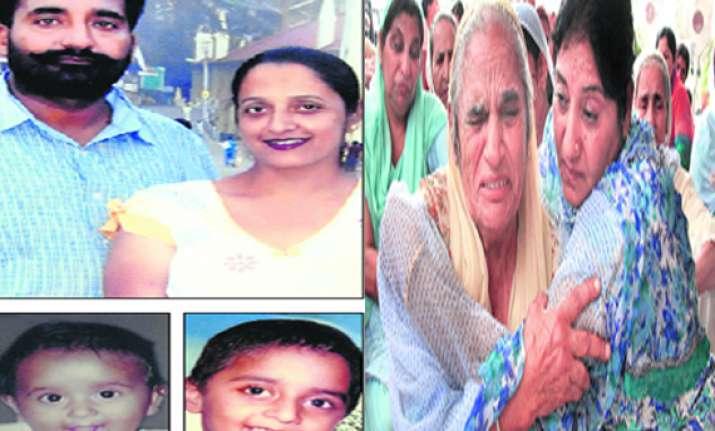 kapurthala property dealer shoots self after gunning down