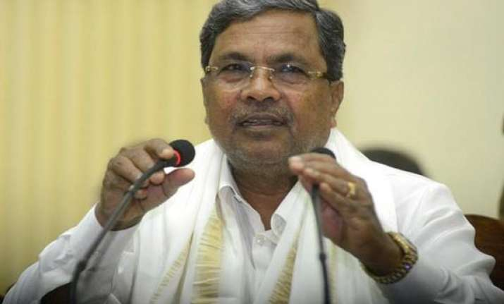 karnataka cm launches pmjdy says fin inclusion idea not new