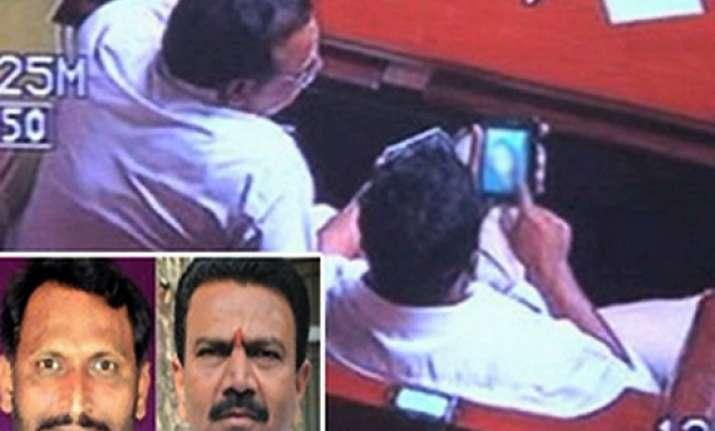 karnataka porn row bjp to train mps mlas and ministers
