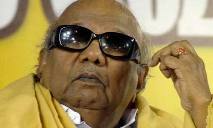 karunanidhi condemns violence against lankan muslims