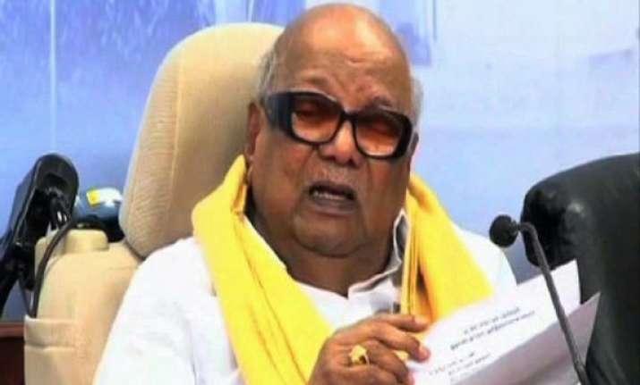 karunanidhi flays ban on pro tamil eelam meet