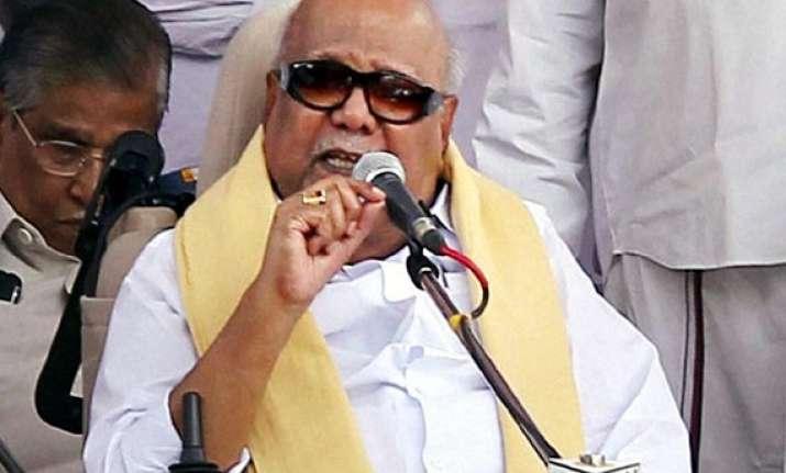 karunanidhi opposes fdi hike in various sectors