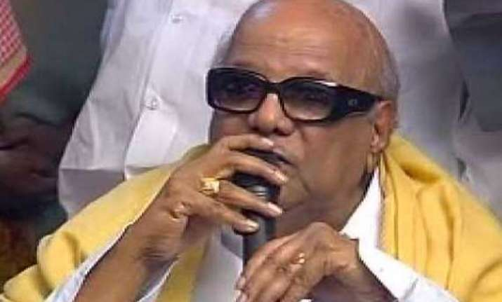 karunanidhi opposes service tax on rice