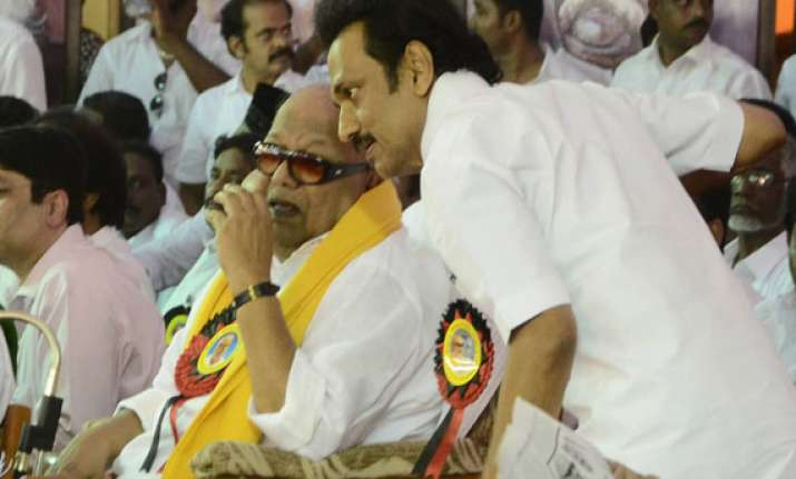 karunanidhi puts riders for prospective allies in ls polls