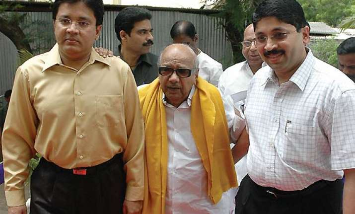 marans like my sons says karunanidhi