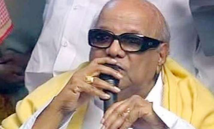 karunanidhi downplays pmo gesture to jaya